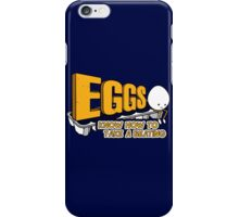 Eggs Know How to Take a Beating   Funny Slogan iPhone Case/Skin