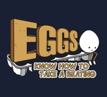 Eggs Know How to Take a Beating | Funny Slogan Kids Clothes
