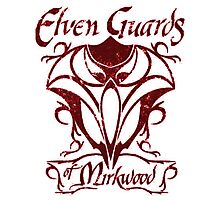 Elven Guards of Mirkwood The Lord of the Rings Photographic Print