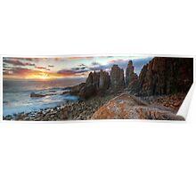 Horizon Burst - The Pinnacles, Phillip Island Poster