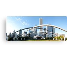 Millennium Park Chicago Panorama Canvas Print