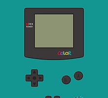 Gameboy Color iPhone/iPad Case ! (Teal) by vxspitter