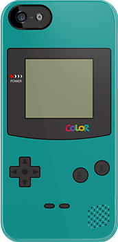 Gameboy Color iPhone/iPad Case ! (Teal) by Venum Spotah
