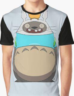 Finn Totoro Graphic T-Shirt