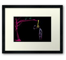this is titled 'judas ice' Framed Print