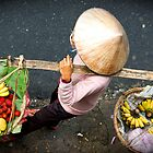 Fruit Vendor HOi AN Vietnam. by aussiejase