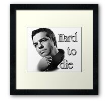 Tsipras : Hard to Die Framed Print