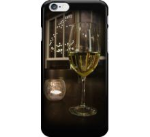 Wine and Candlelight iPhone Case/Skin