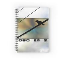 VCR Crow Spiral Notebook