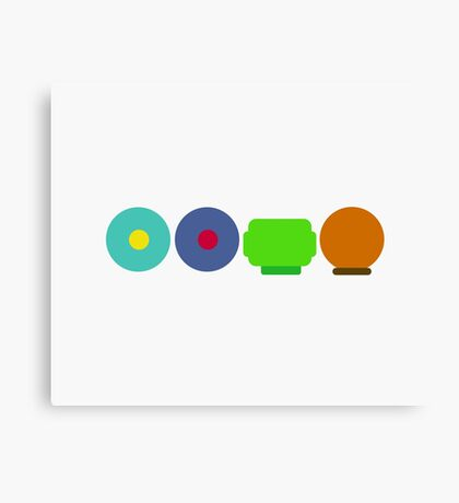 South Park Minimalist Canvas Print