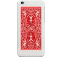 Playing Card Back iPhone Case/Skin