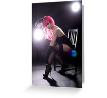 Cabaret Greeting Card