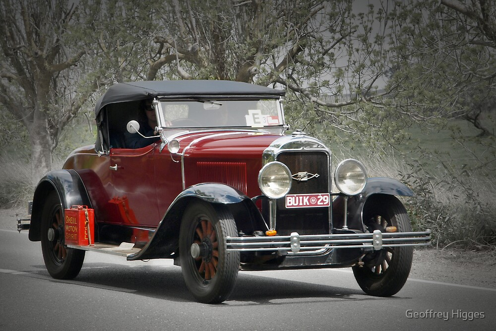Buick 1929 by Geoffrey Higges