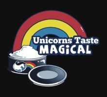 Magically Delicious | Funny Unicorn Shirt One Piece - Short Sleeve