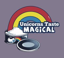 Magically Delicious   Funny Unicorn Shirt Kids Tee