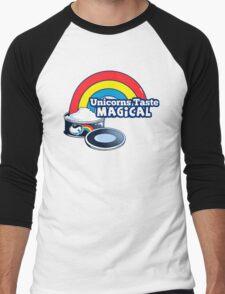 Magically Delicious | Funny Unicorn Shirt Men's Baseball ¾ T-Shirt