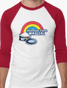 Magically Delicious   Funny Unicorn Shirt Men's Baseball ¾ T-Shirt