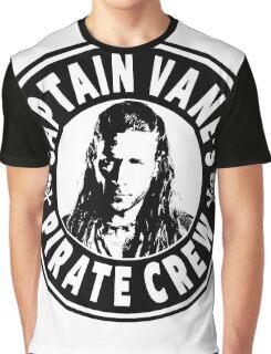 Captain Vanes Pirate Crew Graphic T-Shirt