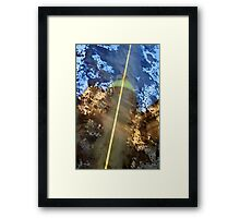 Abstract Reflection Framed Print