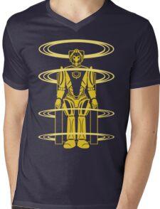 CYBEROPOLIS Mens V-Neck T-Shirt