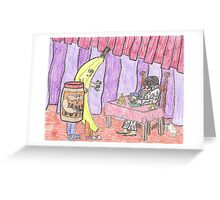 Clownvis The Fortune Teller Greeting Card