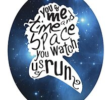 """You Watch Us Run"" (Celestial) by tvtees"