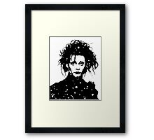 Edward Scissorhands - prints Framed Print
