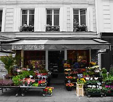 A Parisian Flower Shop by Tom  Reynen