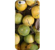Green Oranges iPhone Case/Skin
