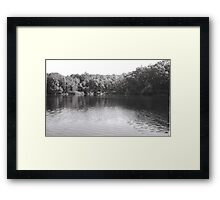 Lake Owego  Framed Print