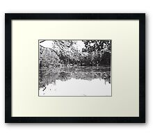 Lake Owego Lake Framed Print