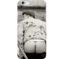 Hocking's arse iPhone Case/Skin