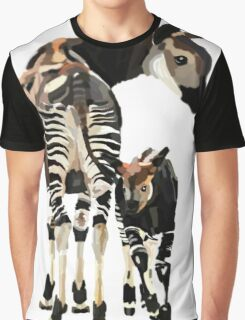 Okapi and Calf  Graphic T-Shirt