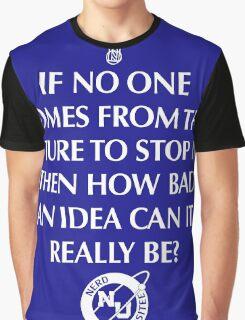 Nerd Time Travel Graphic T-Shirt