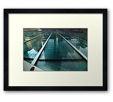 Vancouver City Reflection Framed Print