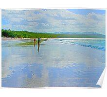 Whitehaven Beach, Queensland Poster