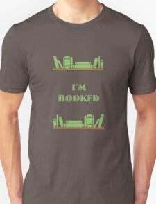 I'm Booked - Green Shelves T-Shirt