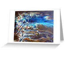 Flooded Plains - Lake Eyre Greeting Card