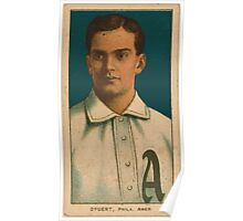 Benjamin K Edwards Collection Jimmy Dygert Philadelphia Athletics baseball card portrait 001 Poster