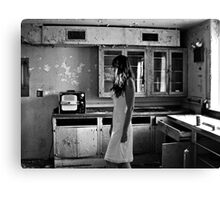 Abandoned Psychiactric Hospital, USA Canvas Print