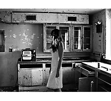 Abandoned Psychiactric Hospital, USA Photographic Print