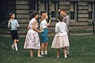 Around a Honey-pot Rochester 19570620 0002  by Fred Mitchell