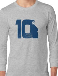Doctor Who 10 Blue Long Sleeve T-Shirt