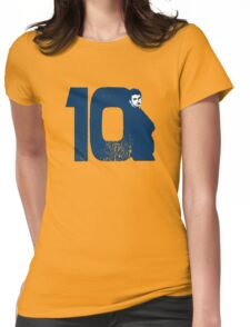 Doctor Who 10 Blue Womens Fitted T-Shirt
