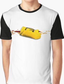 A yellow utopic bag Graphic T-Shirt