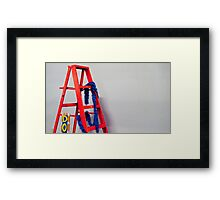 Take It All Down Framed Print