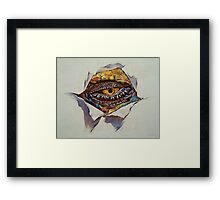Dragon Eye Framed Print