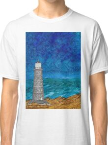 Seascape with Lighthouse Classic T-Shirt