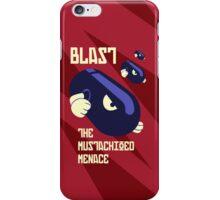 Blast the Mustachioed Menace iPhone Case/Skin