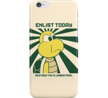 Enlist Today - full colour iPhone Case/Skin